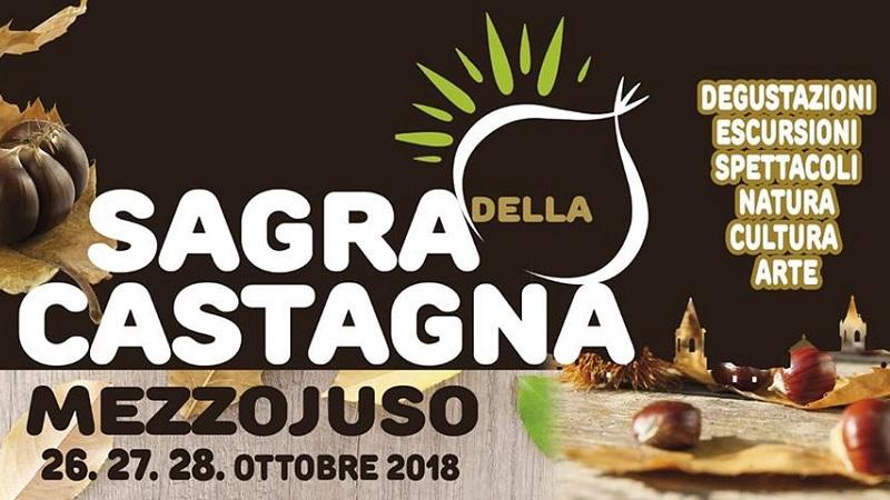 A Mezzojuso dal 26 al 28 ottobre la Sagra della Castagna