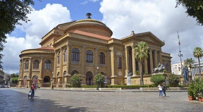Teatro Massimo Focus Palermo record turisti ponte di Pasqua