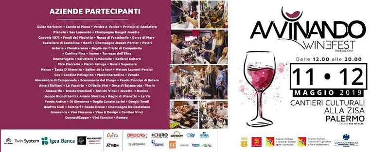 Avvinando Wine Fest 2019 Cantieri Culturali della Zisa Palermo