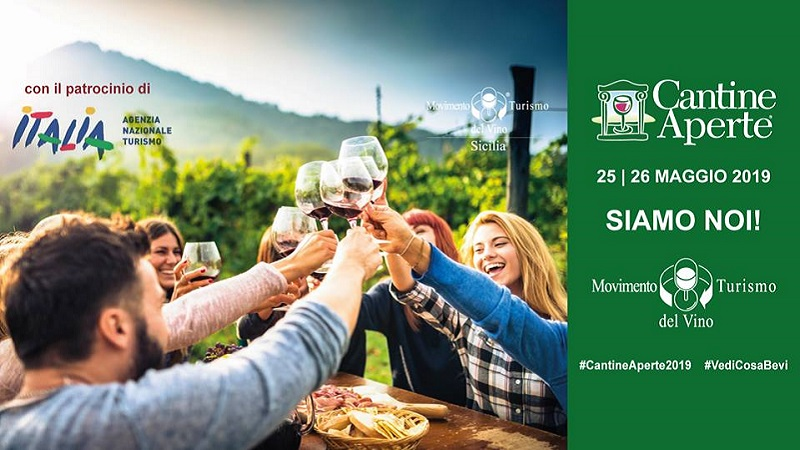 Cantine Aperte 2019: ecco dove degustare il vino in Sicilia il 25 e il 26 maggio