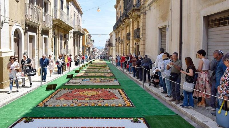 Inverdurata di Pachino: dal 10 al 13 maggio alla scoperta dei mosaici vegetali