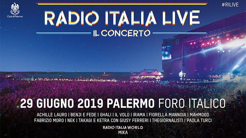 Radio Italia Live – Il Concerto 2019: ecco gli artisti presenti a Palermo. Mika ospite internazionale
