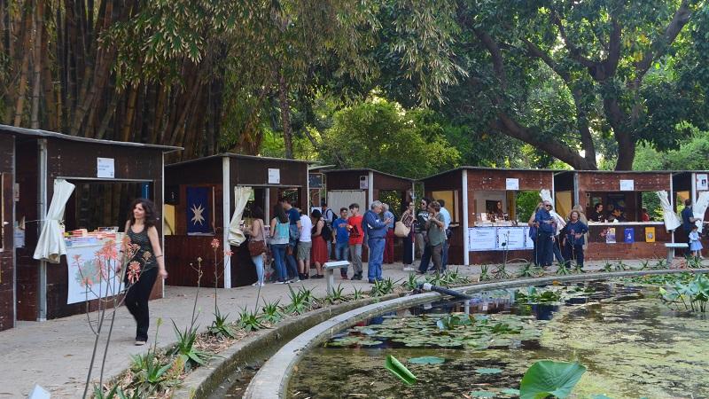Una marina di libri Orto Botanico Palermo