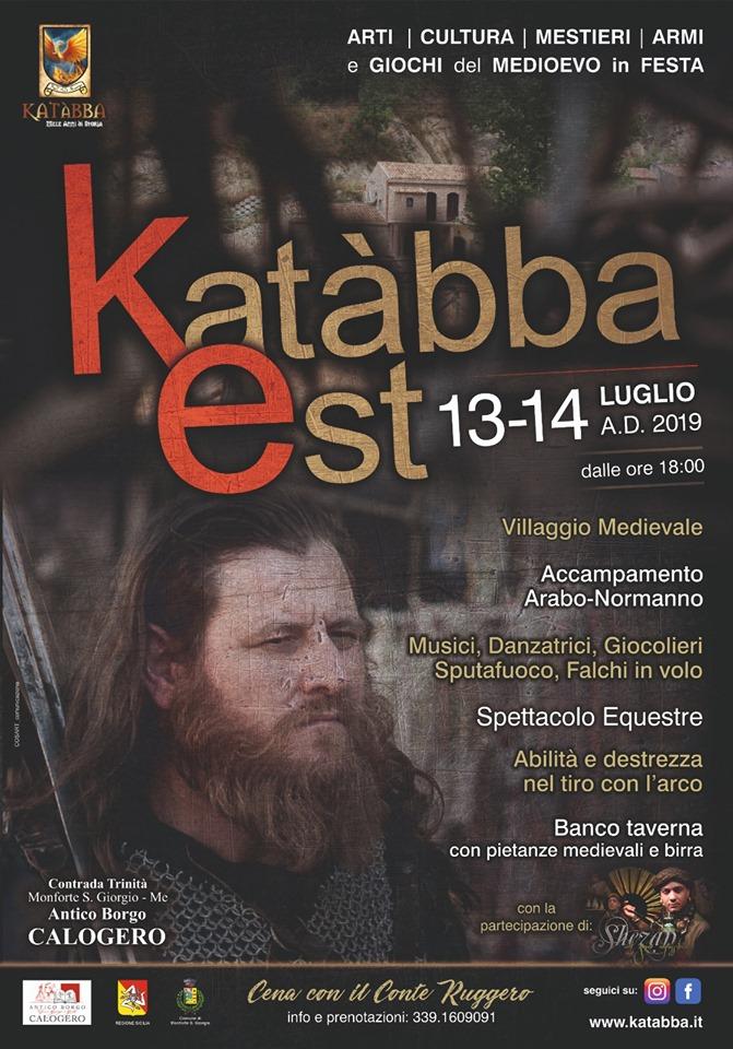 Katàbba Est Monforte San Giorgio estate medievale