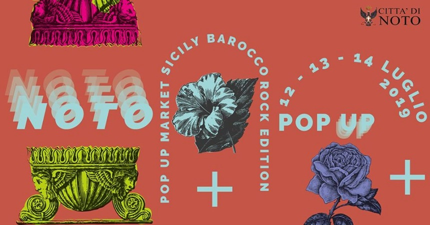 Pop Up Market Sicily Summer Circus Catania Barocco Rock Noto