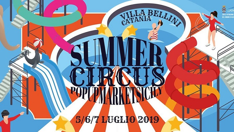 Pop Up Sicily Summer Circus Catania Barocco Rock Noto