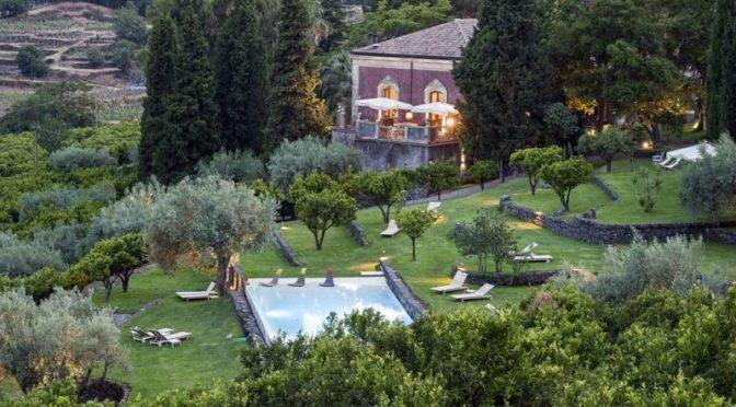 Agriturismi con piscina in Sicilia Monaci delle Terre Nere agriturismo