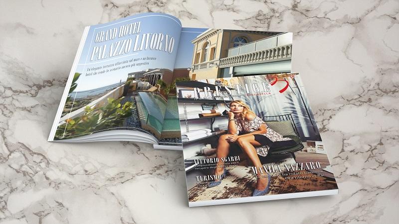 Nasce Prestige, il magazine del Gruppo Bulgarella: nel primo numero Manila Nazzaro e Vittorio Sgarbi