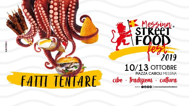 Messina Street Food Fest 2019, dal 10 al 13 ottobre con la novità Messina Street Fish