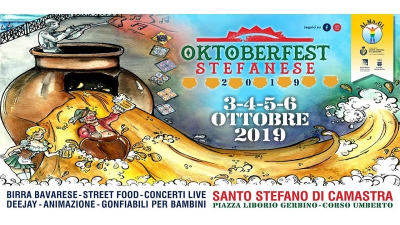 Oktoberfest Stefanese, fiumi di birra dal 3 al 6 ottobre a Santo Stefano di Camastra