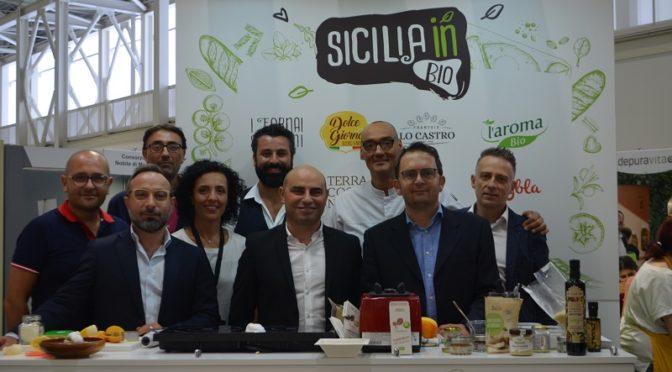Sicilia in Bio Magazine Sana 2019 Simone Salvini Giulia Giunta