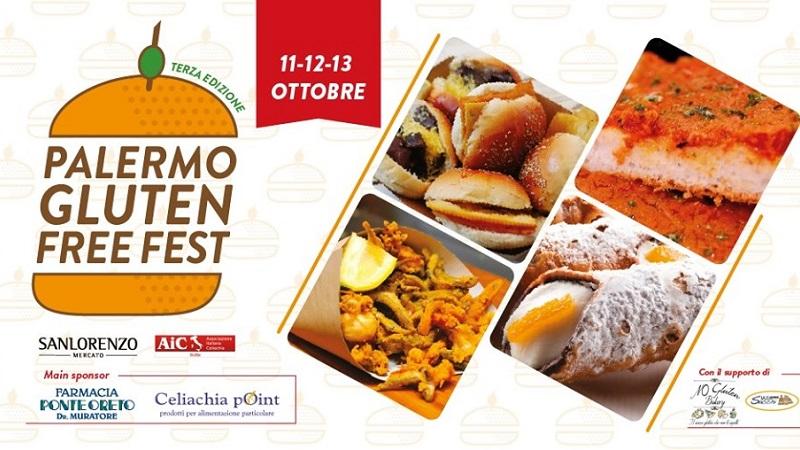 Palermo Gluten Free Fest Sanlorenzo Mercato senza glutine