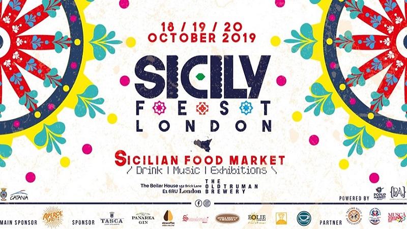 Sicily Fest London: i migliori prodotti siciliani a Londra dal 18 al 20 ottobre