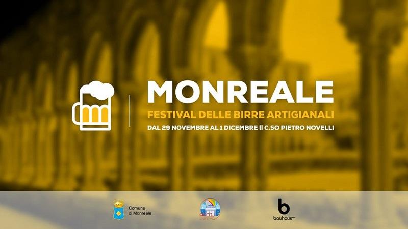 Festival delle birre artigianali a Monreale dal 29 novembre