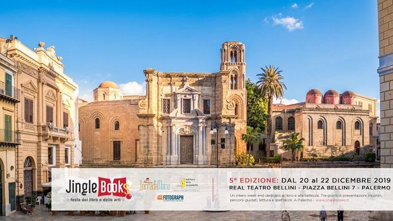 Jingle Books – Festa del libro e delle arti, al Real Teatro Bellini di Palermo