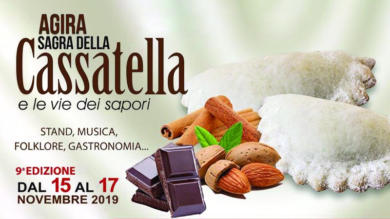 Sagra della Cassatella di Agira: dolci e spettacoli dal 15 al 17 novembre