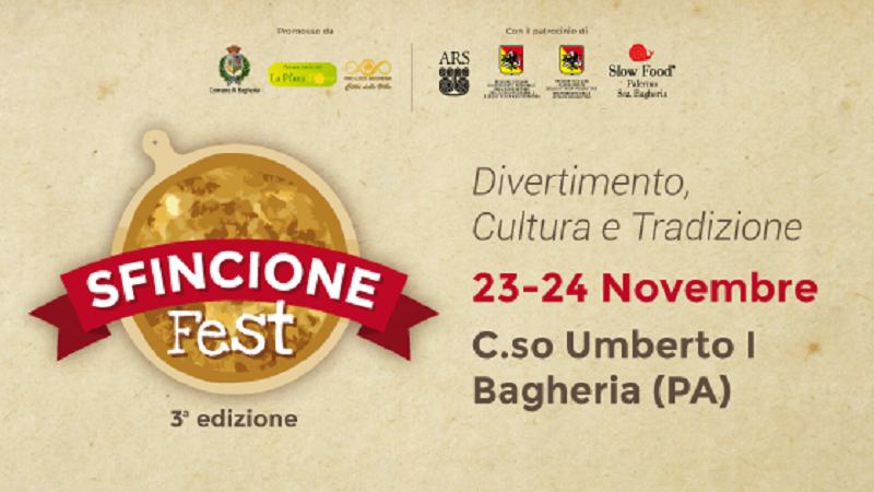 Sfincione Fest a Bagheria il 23 e il 24 novembre