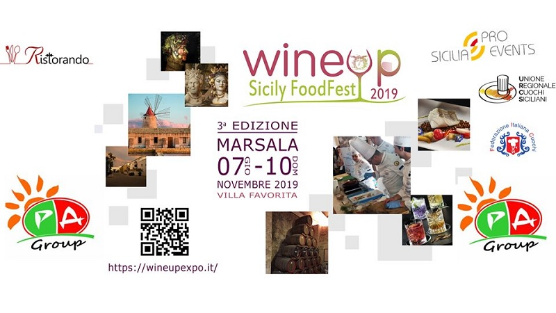 WineUp expo 2019 Marsala enoturismo