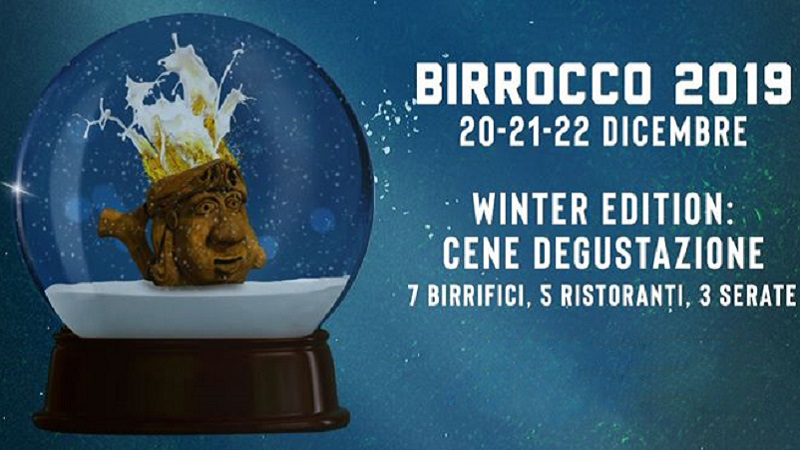 Birrocco Winter Edition: birra protagonista a Ragusa dal 20 al 22 dicembre