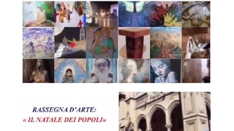 Palermo, la rassegna d'arte Il Natale dei Popoli dal 14 al 16 dicembre all'Auditorium Valdese