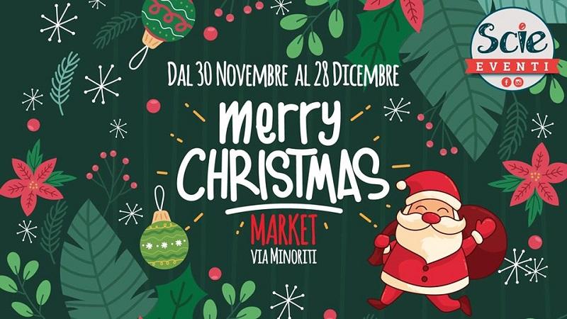 Merry Christmas Market Catania: il programma dell'evento natalizio