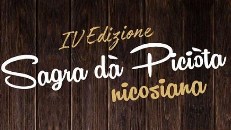 Sagra da Piciòta nicosiana il 22 dicembre a Nicosia