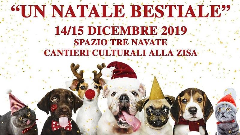 Un Natale Bestiale: a Palermo l'evento natalizio per cani e gatti