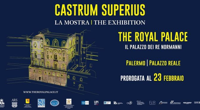 Castrum Superius mostra Palazzo Reale Palermo