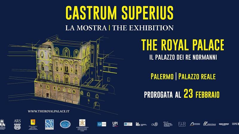 """Palermo, record visitatori per """"Castrum Superius"""": la mostra al Palazzo Reale prorogata fino al 23 febbraio"""