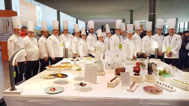 Il Culinary Team Palermo vince la medaglia di bronzo alle Olimpiadi di Cucina Stoccarda 2020