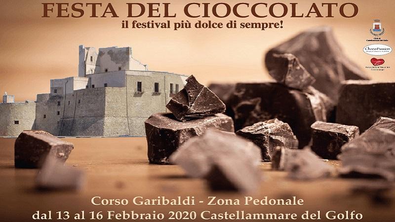 Festa del cioccolato a Castellammare del Golfo dal 13 al 16 febbraio