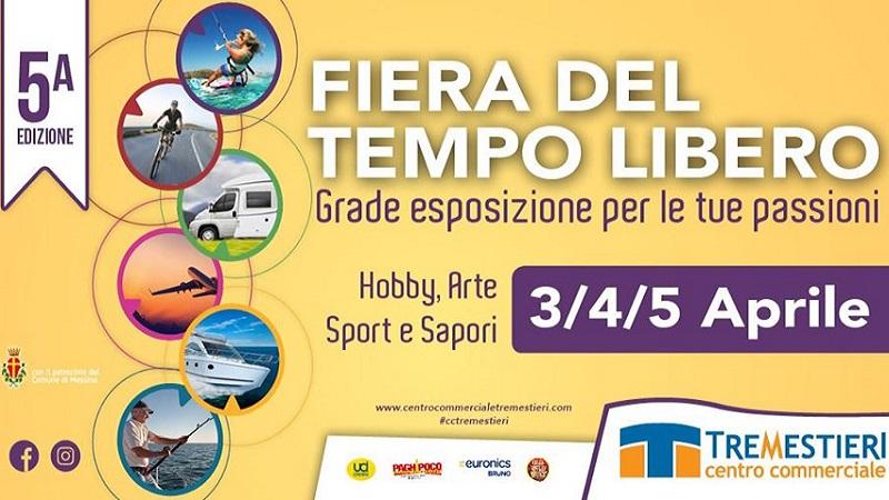 Al Centro Commerciale Tremestieri di Messina arriva la Fiera del Tempo Libero