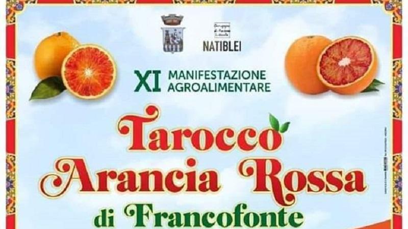 Sagra del Tarocco a Francofonte dal 29 febbraio al primo marzo