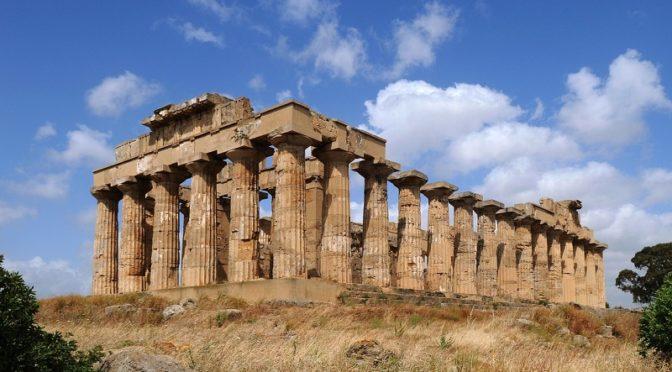 parco archeologico di Selinunte Giornata internazionale della Guida turistica