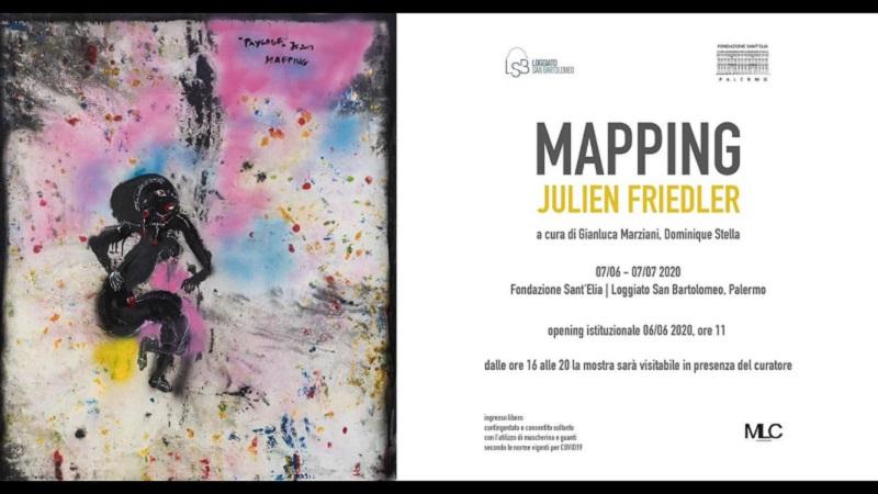 Palermo, sarà dell'artista belga Julien Friedler la prima mostra dopo la quarantena