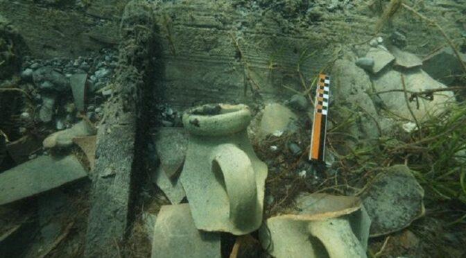 Relitto di una nave romana Marausa