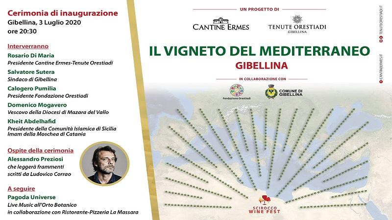 A Gibellina si inaugura il Vigneto del Mediterraneo