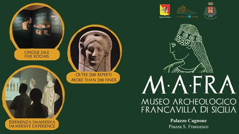 Inaugurato il Mafra, il Museo archeologico di Francavilla di Sicilia
