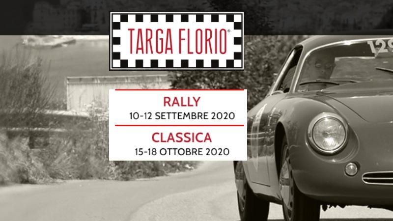 Targa Florio Classica 2020: dal 15 al 18 ottobre torna in scena l'automobilismo storico