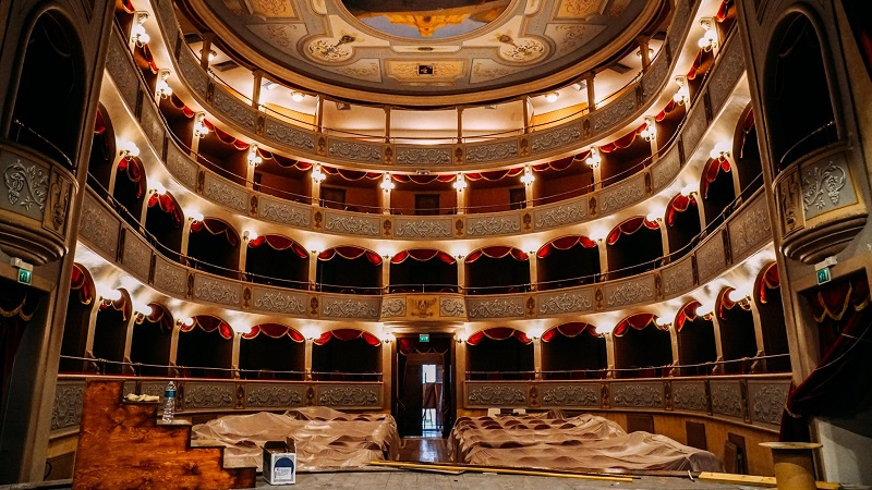 Teatro Garibaldi di Modica: stanno per terminare i lavori di restauro